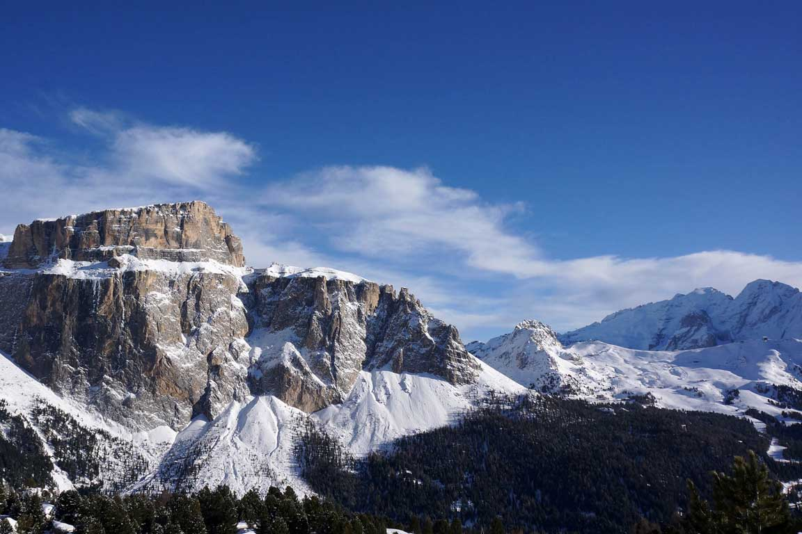 Sella group and Belvedere