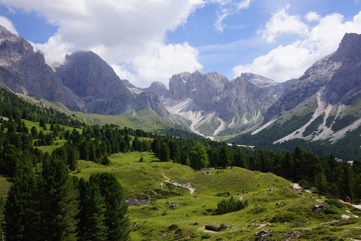 Hiking in the Dolomites Italy Alps - Le Odle