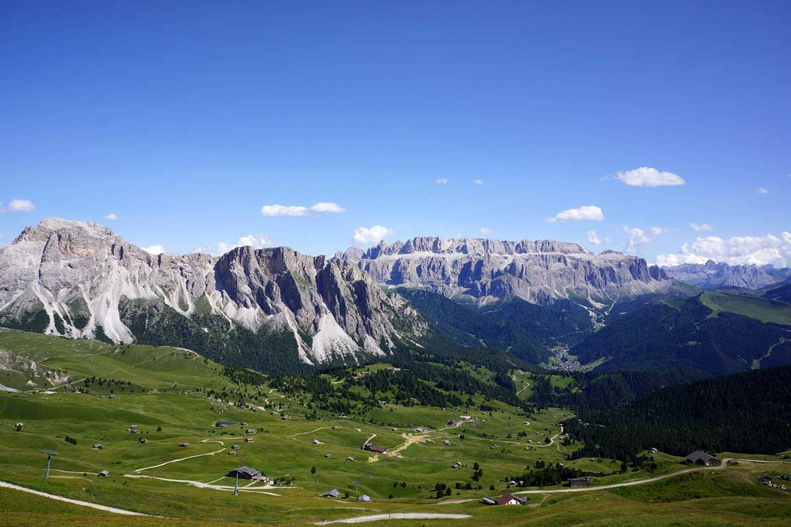 Seceda, Stevia, Sella Massif and Selva Val Gardena
