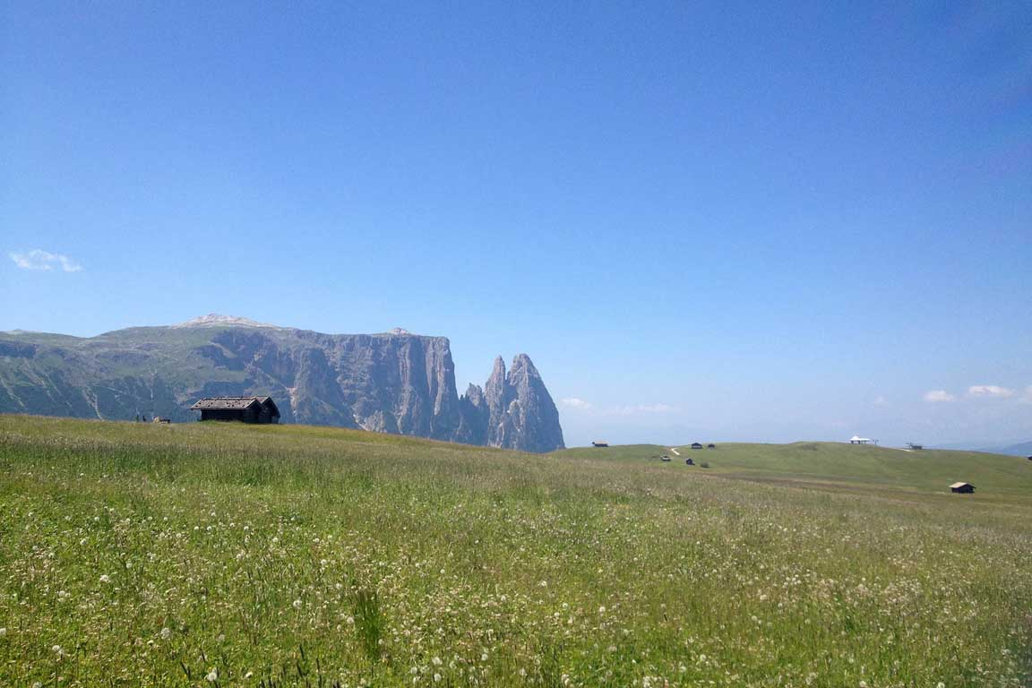 Mountain bike tour on the Alpe di Siusi
