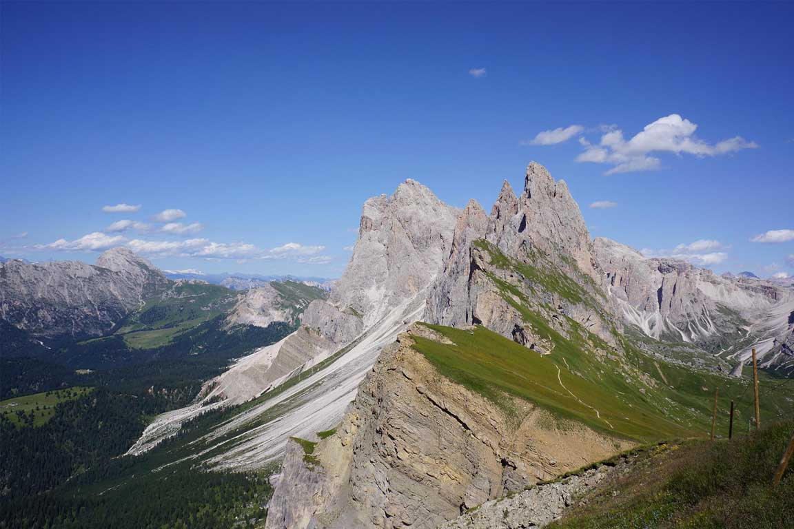 Le Odle in the Dolomites Unesco World Natural Heritage