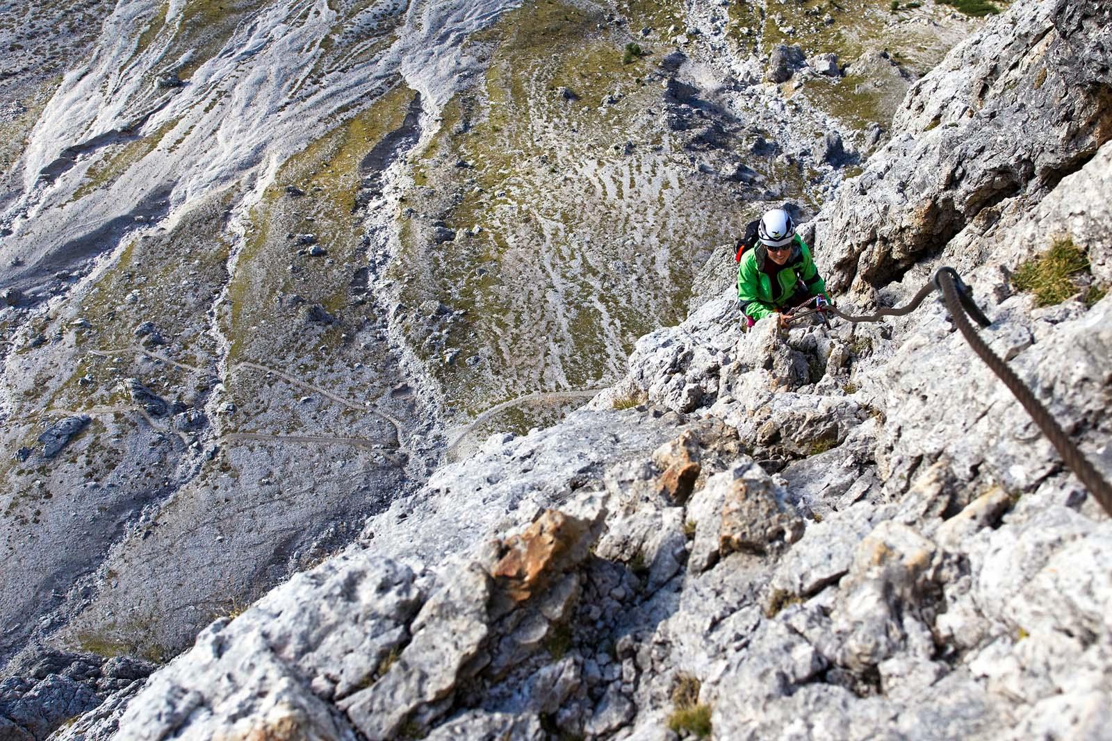 Klettersteig Dolomiten : Klettersteigwoche in den dolomiten sellagruppe