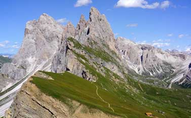 Seceda Dolomites - Hiking in the Dolomites